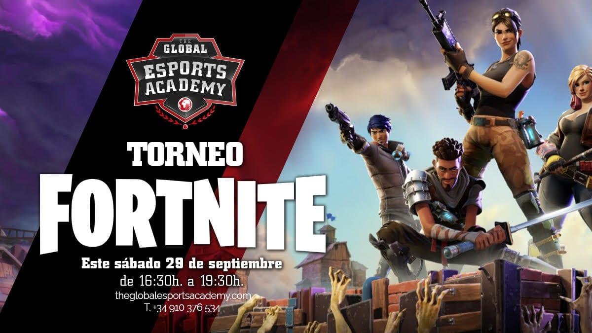 Torneo Presencial de Fortnite