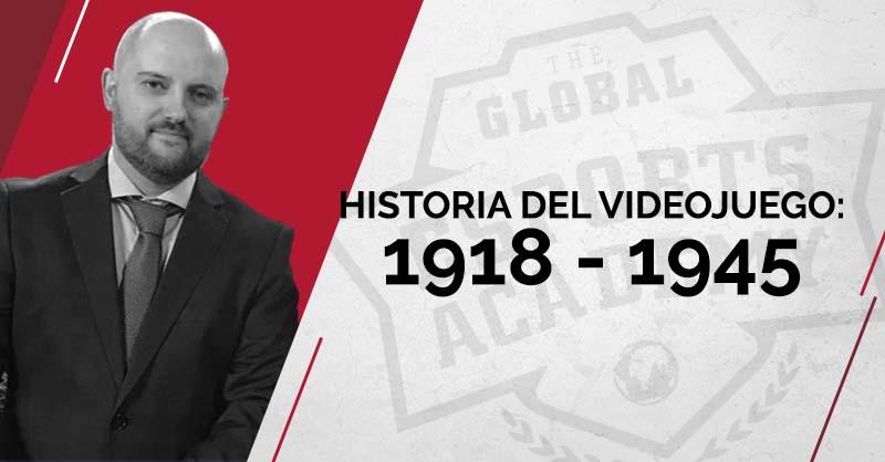 Historia del videojuego 1918 - 1945