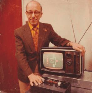 Figura 2 - Ralph Baer, considerado el padre de los videojuegos