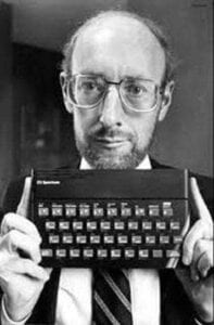Figura 5 - Sir Clive Sinclair