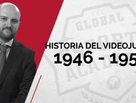 Historia del videojuego como arte y práctica deportiva: 1946 – 1950