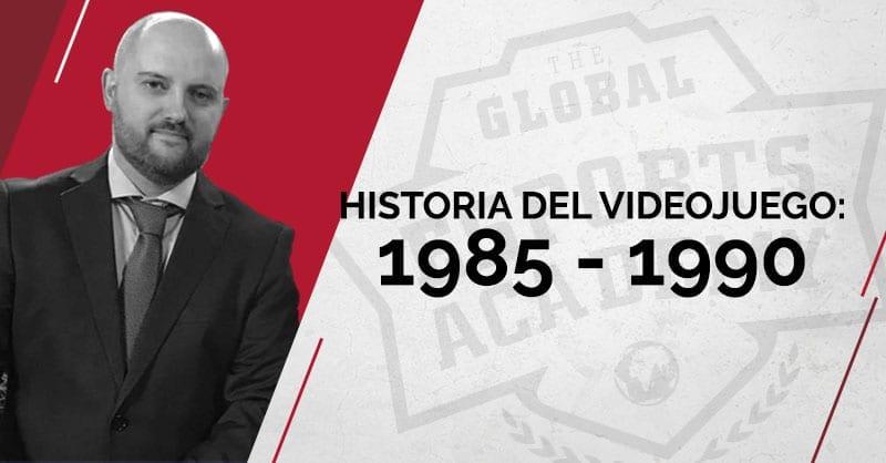 Historia del videojuego 1985 - 1990