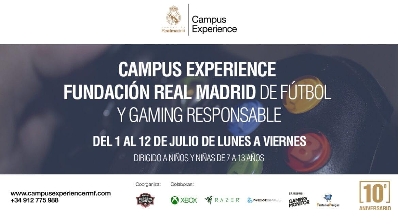 Campus Experience Fundación Real Madrid de Fútbol y Gaming Responsable